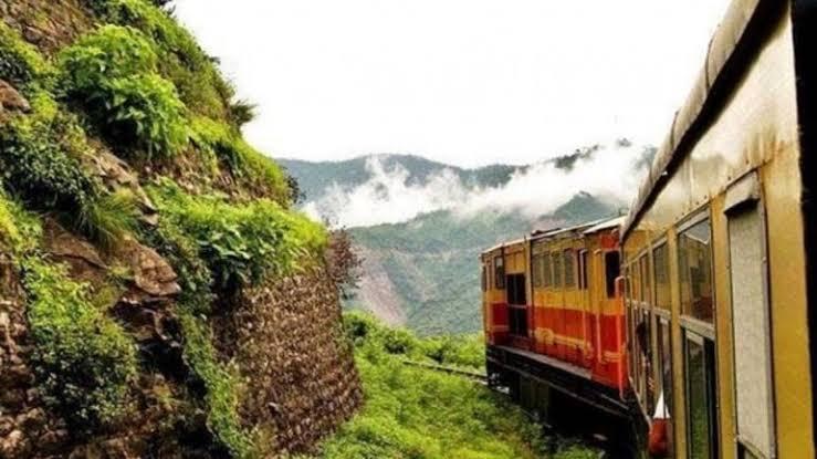 Toy train ride from Shimla to Kalka
