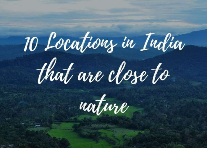 Places for nature lovers header