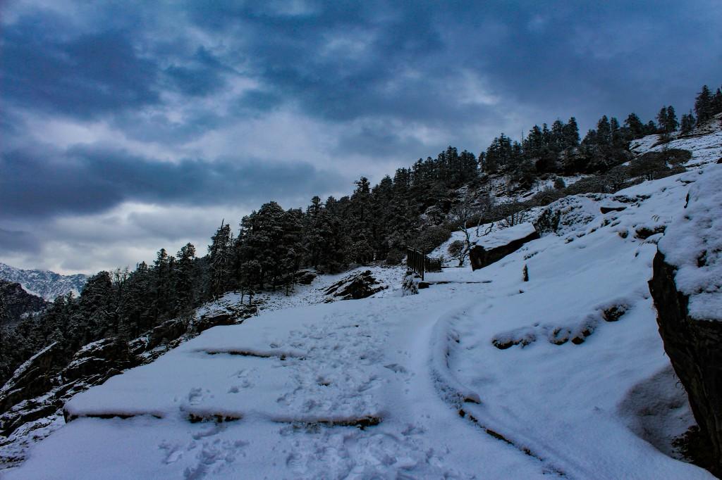 best himalayan trek in Winters