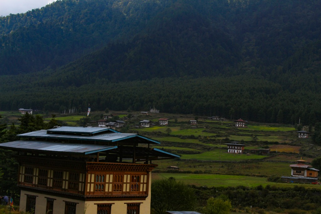 Phobjikha Valley in Bhutan
