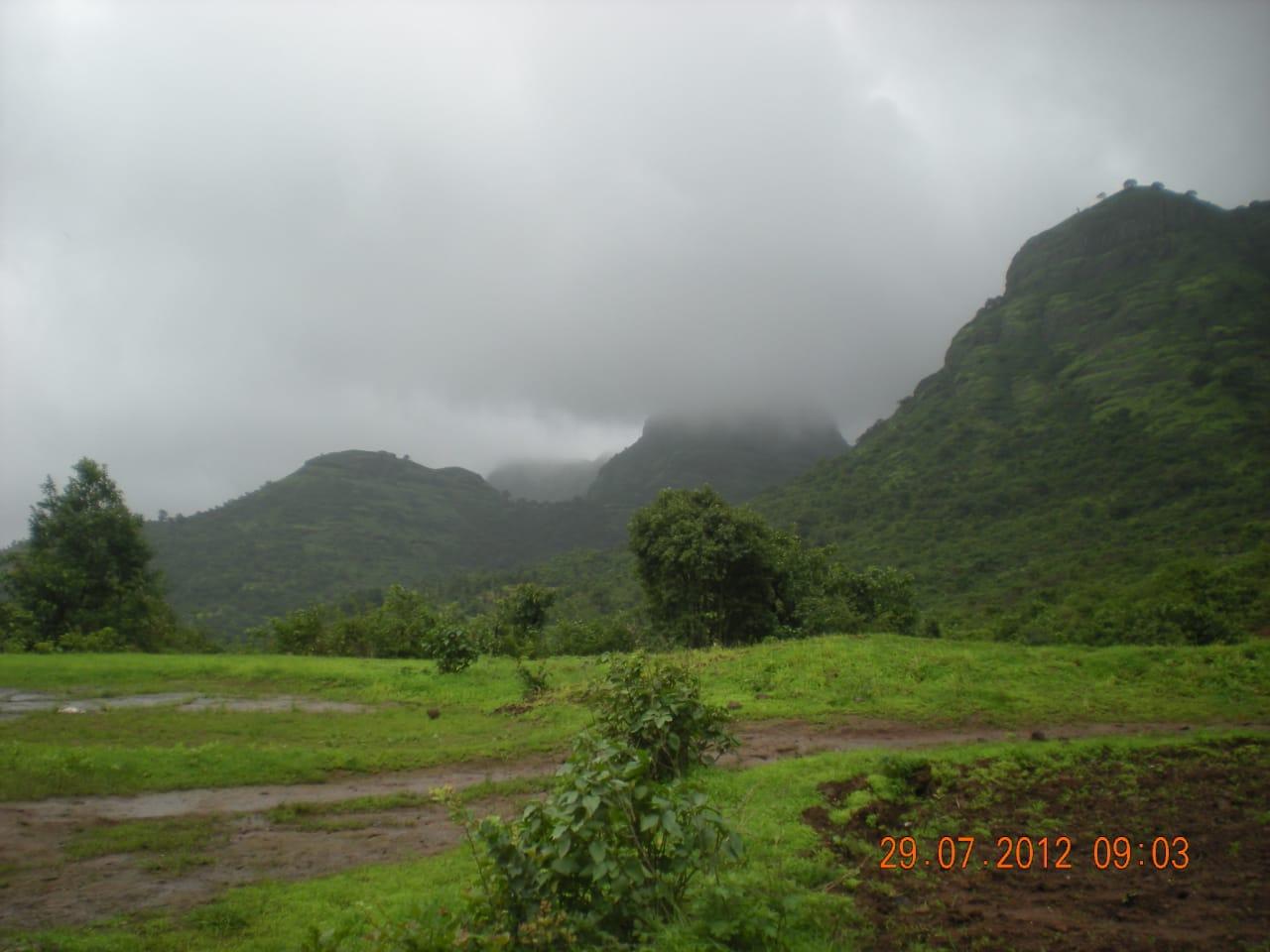 View from Kalsubai Trek, Western Ghats, Maharashtra