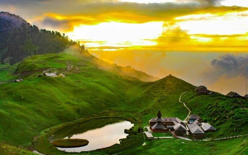 A different view of Prashar Lake