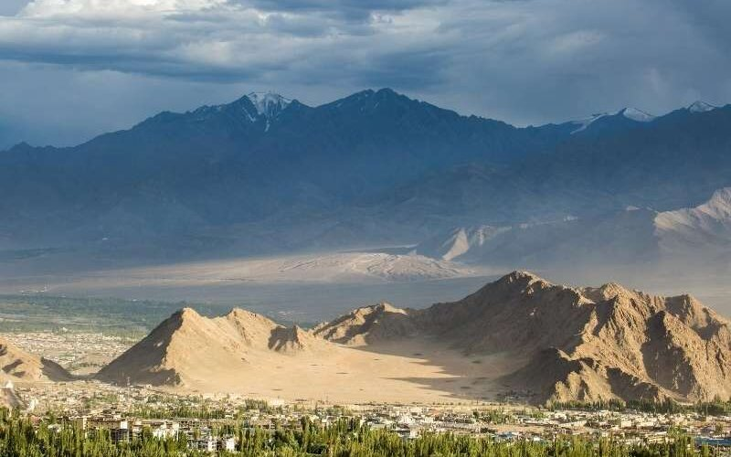 Another view of Leh Town