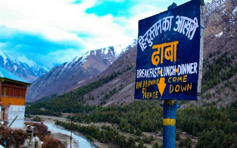 Last Indian Dhaba at Chitkul