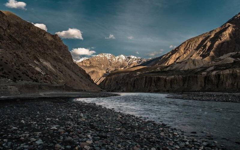 Spiti River View