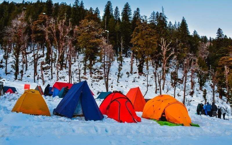 Camping at Juda ka Talab