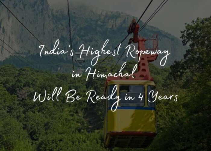 Ropeway to Rohtang, himachal