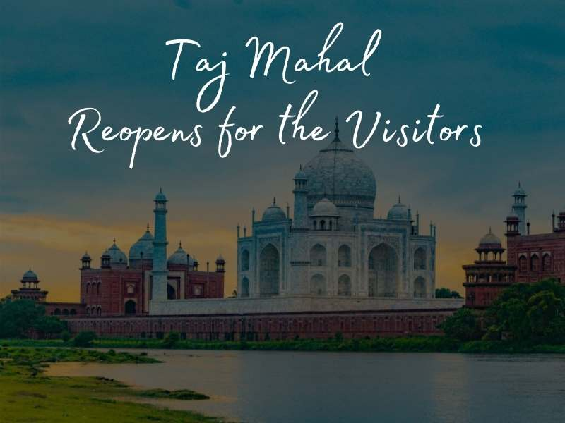 TajMahal reopens for the visitors