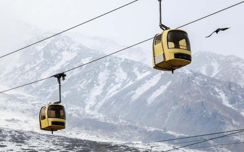 Gondola RIde in Gulmarg - Kashmir Tour