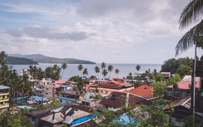 Port Blair City View - Andaman Tour