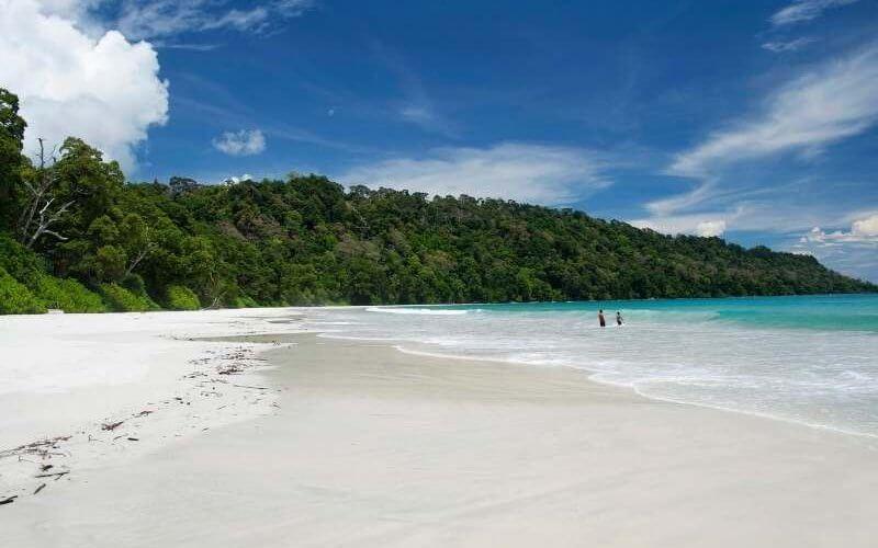 Elephant Beach in Havelock Island - Andaman Tour