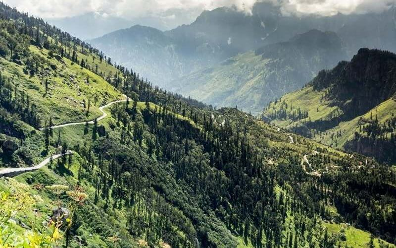 View from the way to Rohtang Pass - Shimla Manali Tour Package