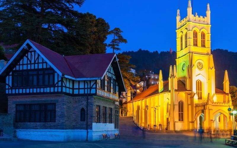 Christ The Church, Shimla - Shimla Manali Tour Package