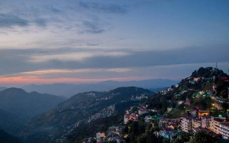 Scenic View of Shimla